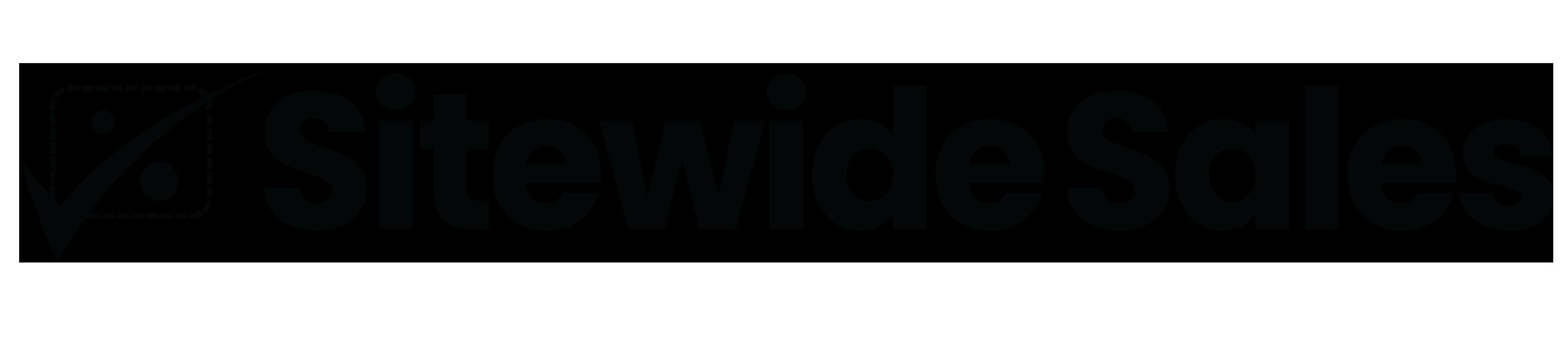 Sitewide Sales Black Logo as PNG